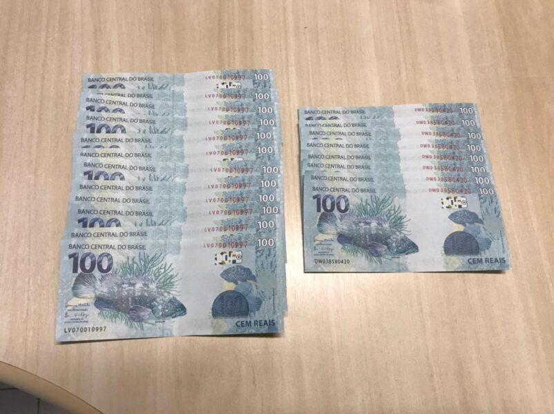 Homem é preso com R$ 2.000 em cédulas falsas encomendadas