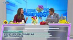 Cantor Sorocaba anuncia que será pai novamente!