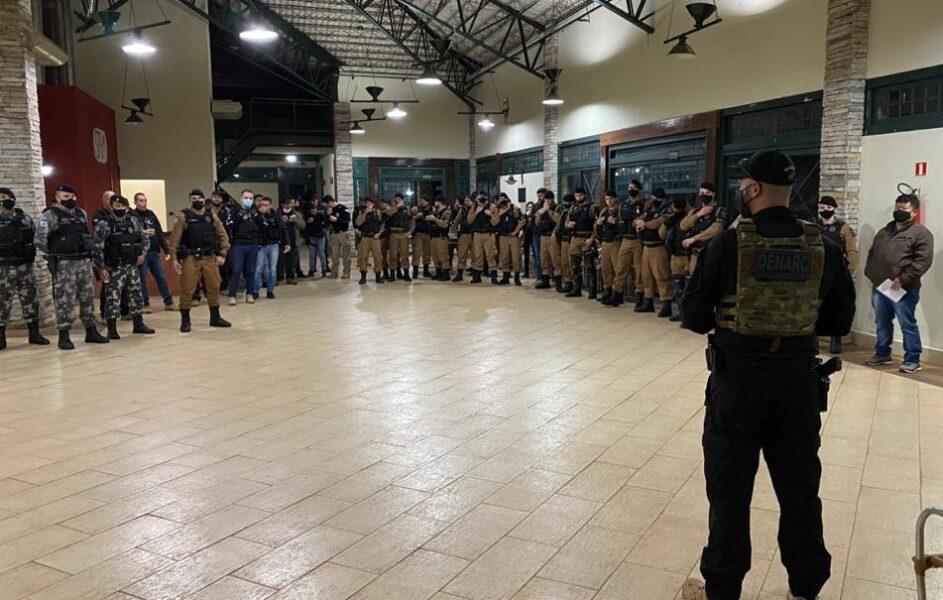 PMPR e PCPR realizam operação contra tráfico de drogas em Maringá; um suspeito morreu