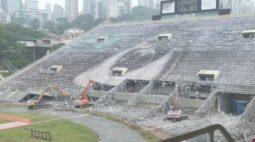 Pacaembu passa por obras e tobogã será demolido
