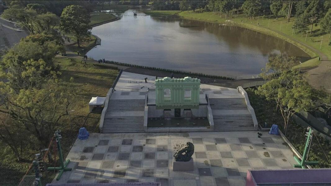 Com bandeira laranja, parques de Curitiba reabrem com restrições