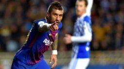 Sem clube, Paulinho revela preferência em retorno à Europa e acena ao Barcelona