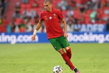 """Pepe se diz confiante para confronto com a França: """"Vamos procurar atacar"""""""