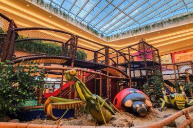 Mundo dos Pequenos Gigantes é a nova atração do Jockey Plaza Shopping