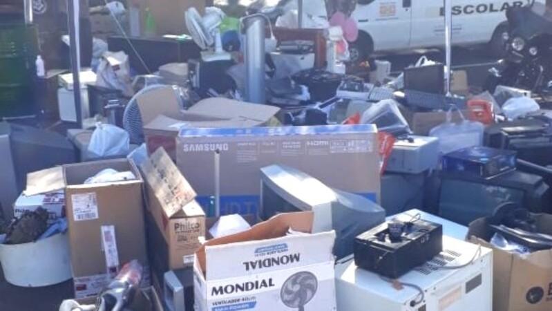 Ação recolhe lixo eletrônico em Londrina, neste sábado (5), das 9h às 14h