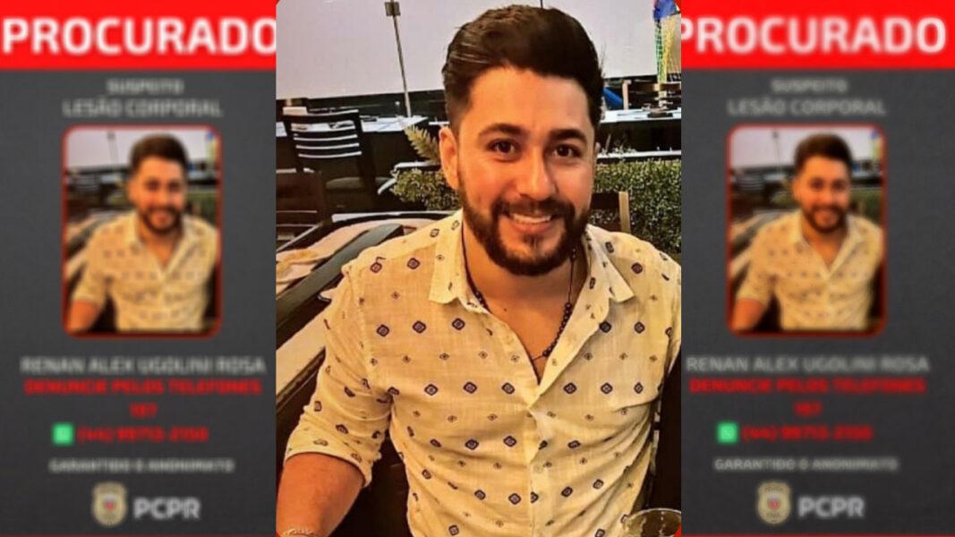 Homem que agrediu ex-mulher em Cianorte é procurado pela polícia