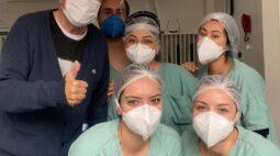 Após ser internado com covid-19, deputado Romanelli tem alta hospitalar