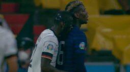 UEFA não vai abrir investigação contra Rudiger por incidente com Pogba