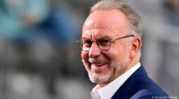 Rummenigge deixa o cargo de CEO do Bayern, que será ocupado por Kahn