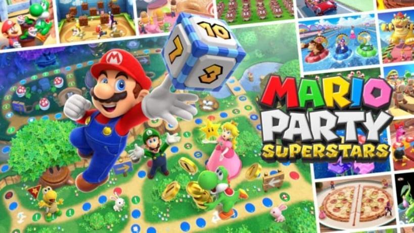 Mario Party Superstars terá Português Brasileiro como opção de idioma
