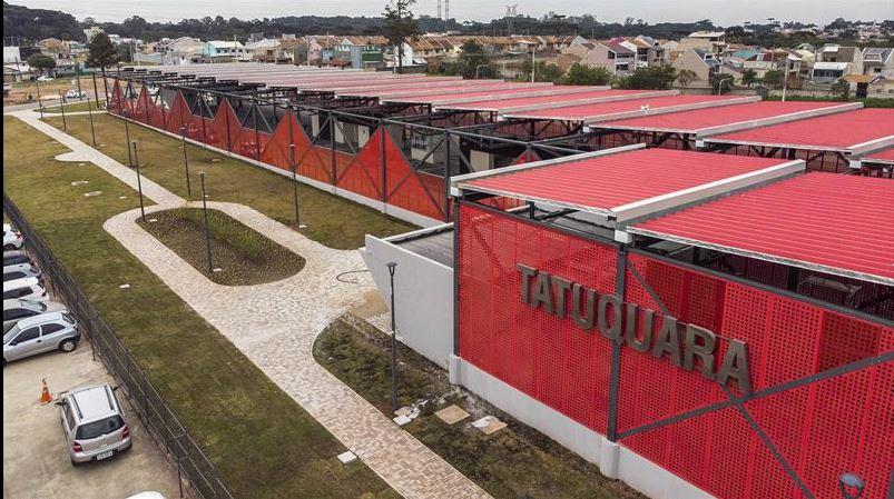 Terminal do Tatuquara:  24º terminal da rede integrada foi inaugurado nesta semana