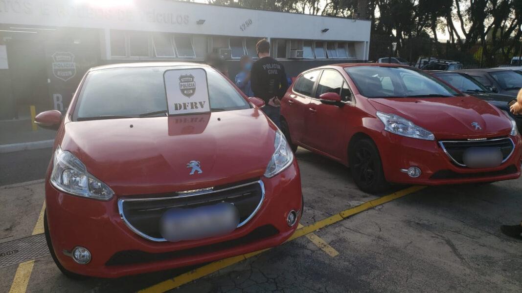 Idoso de 75 anos é detido com veículo clonado, em Curitiba