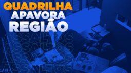 Quadrilha que arromba restaurantes e comércios está apavorando a região de Londrina