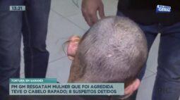 Polícia resgata mulher que foi agredida e teve o cabelo raspado como tortura