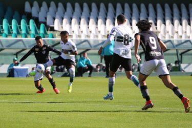 Coritiba empata com o Botafogo em 1 a 1 no jogo de ida da final da Copa do Brasil Sub-20