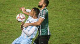 Coritiba sai na frente, mas cede o empate para o Londrina