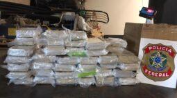 Mulher é presa por transportar 35 Kg de pasta base de cocaína em Guaíra