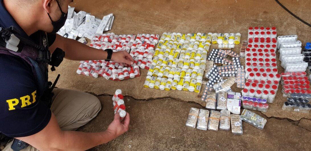 Mais de 15 mil comprimidos anabolizantes são apreendidos em Londrina