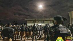 Operação contra o tráfico cumpre 30 mandados de busca e apreensão em Castro