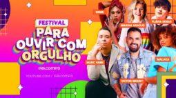 Festival de música online terá apresentação e performance de Marc Yann