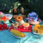 Comidas típicas e música de festa junina no Parque das Aves