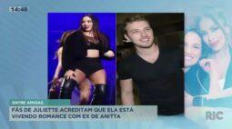 Fãs de Juliette acreditam que ela está vivendo romance com ex de Anitta