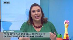 Após ostentar em Dubai, Ronaldinho Gaúcho pode ser preso por pensão