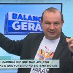Prefeitura de Maringá diz não ter aplicado doses vencidas, erro sistêmico seria do SUS