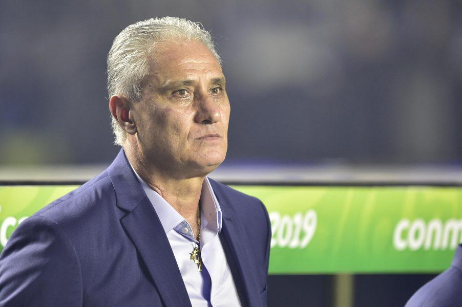 """Tite fala sobre oscilação da Seleção na vitória sobre o Peru: """"O jogo é feito de etapas"""""""