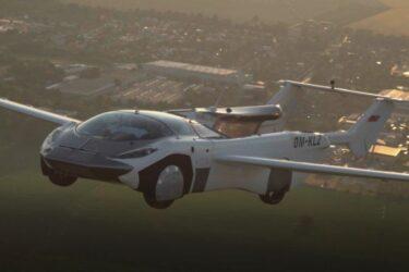 Carro voador completa voo teste de um aeroporto a outro em 35 minutos