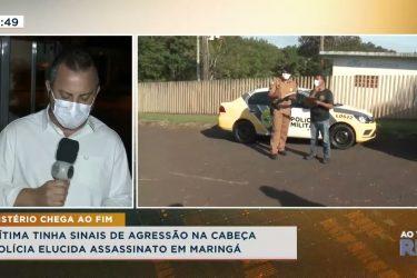 Mistério chega ao fim, polícia elucida assassinato em Maringá