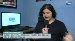 Cursos gratuitos preparam jovens que sonham com negócio próprio