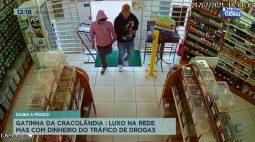 Bandidos assaltam comércio no floresta e roubam dinheiro, câmeras flagram ação
