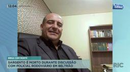 Sargento é morto durante discussão com policial rodoviário em Beltrão