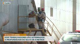 Dois trabalhadores são soterrados em fosso de de oito metros de profundidade