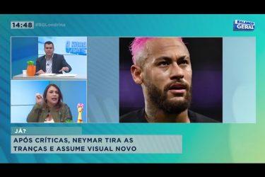 Após críticas, Neymar tira as tranças e assume visual novo