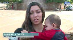 Família perde tudo após incêndio destruir casa no Vista Bela