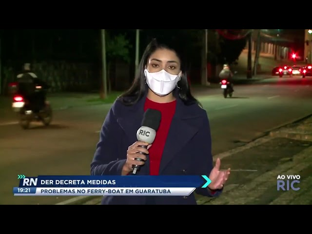 DER decreta medidas: problemas no ferry boat em Guaratuba
