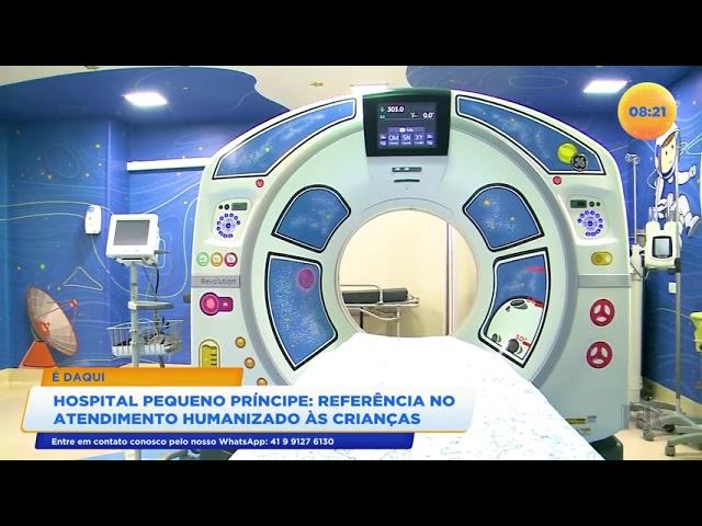 Hospital Pequeno Príncipe: referência no atendimento humanizado às crianças