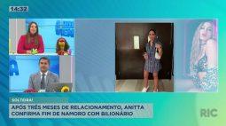 Anitta confirma fim de namoro com bilionário após três meses de relacionamento