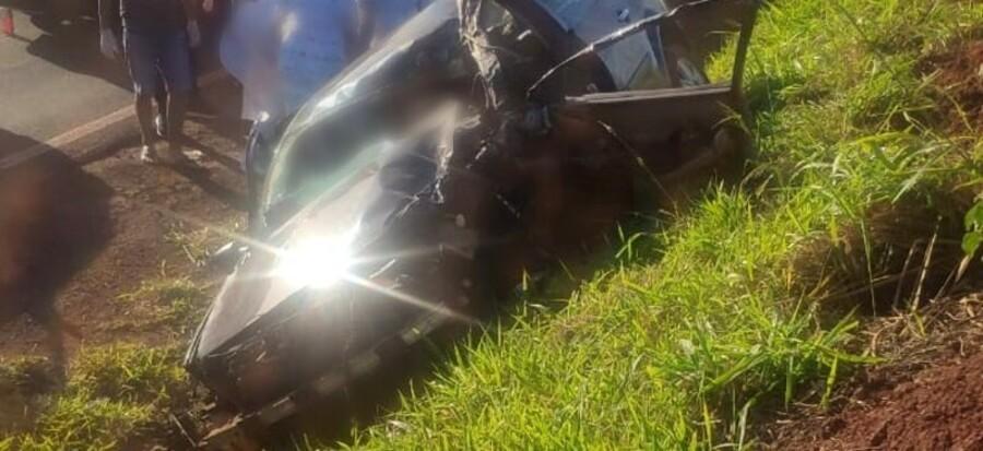 Dois homens morrem em acidente na PR-170, entre Porecatu e Florestópolis