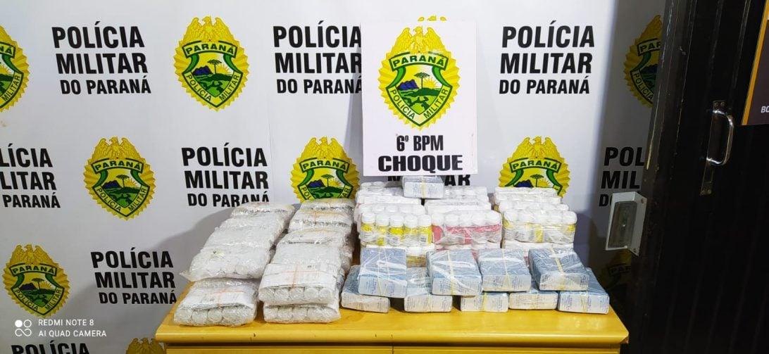 Homem é detido com anabolizantes no Terminal Rodoviário de Cascavel