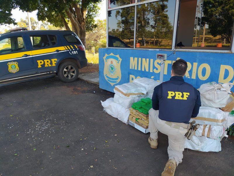 Mais de 300 Kg de maconha são apreendidos em Alto Paraíso (PR)