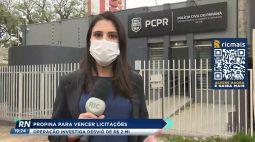 Propina para vencer licitações operação investiga desvio de R$2 milhões