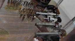 PM apreende quatro armas e dezenas de munições em casas na região de Cianorte