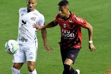 Athletico não vence o Santos, na Vila Belmiro, desde 2005
