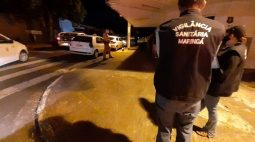 Fiscalização multa e interdita bar que descumpriu decreto em Maringá