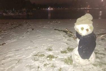 Neve cai em municípios do RS e SC; veja a previsão para o Paraná