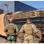 Forças policiais realizam apreensão milionária de cigarros em Terra Roxa