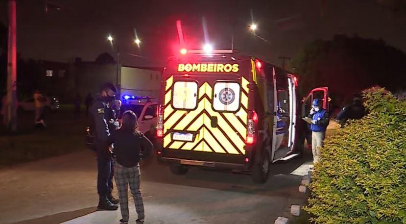 Vizinho escuta briga entre casal e dispara contra marido suspeito de agressão, em Pinhais